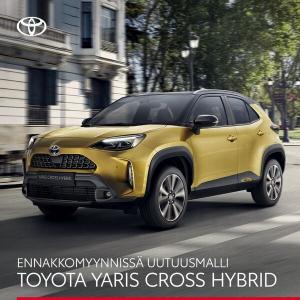 Uutuusmalli Toyota Yaris Cross Hybrid – ketterä ja kompakti crossover on nyt ennakkomyynnissä. Tutustu ja ennakkovaraa! https://...