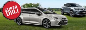 Meiltä äitienpäivän kunniaksi Toyota SUPERDIILI! Etusi on jopa yli  1 800 €.  Saat Toyota C-HR, Toyota Corolla ja Toyota Yaris ...