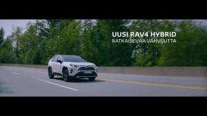 Joko koeajoit Toyota RAV4 Hybridin?