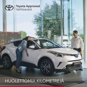 Toyota on tehnyt käytetyn auton omistamisesta yhtä huoletonta kuin uudenkin. Toyota Approved Vaihtoautot on Toyota-liikkeiden st...