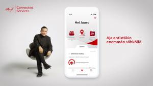 MyT-mobiilisovelluksen hybridiajovalmentaja-palvelu