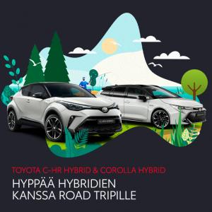 Hyödynnä Toyotan kesäedut! Saat HYBRIDIPAKETIN erikoishintaan. Tutustu tästä: https://www.toyotaairport.fi/yritys/tarjoukset-ja-...