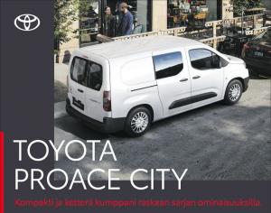 PROACE CITY AUTOMATIC EDITION nyt manuaaliakin edullisemmin hintaan 30 669 €! Vakiona mm. Smart Cargo -läpilastausluukku, poltto...
