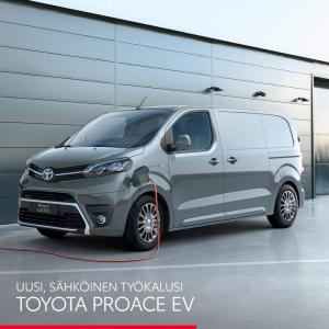 Uusi, täyssähköinen Proace EV tarjoaa tilaa, muunneltavuutta ja jopa 313 km:n sähköajokantaman (WLTP). Kattavassa vakiovarustelu...