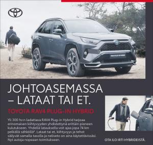 A post from Toyota Itäkeskus ja Airport